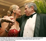 Future First Lady Jeri Thompson and FOF Paul Wolfowitz at the April White House Correspondents Dinner.
