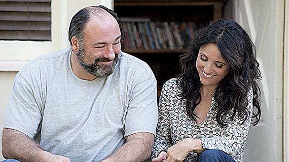 Gandolfini and Louis-Dreyfus