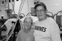 Gayle and Jim Tanner of Bonnie Blue Farm - ERIC WILSON