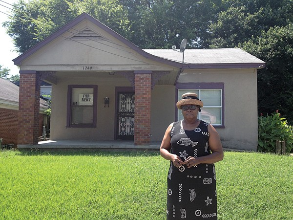 Gennie Suggs-Smith and her former office on Cannon - BIANCA PHILLIPS