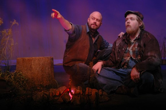 George and Lennie, together again. - SKIP HOOPER, COURTESY OF THEATRE MEMPHIS
