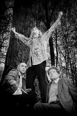 George Boller, Bill Baker, and James Dale Green in King Lear