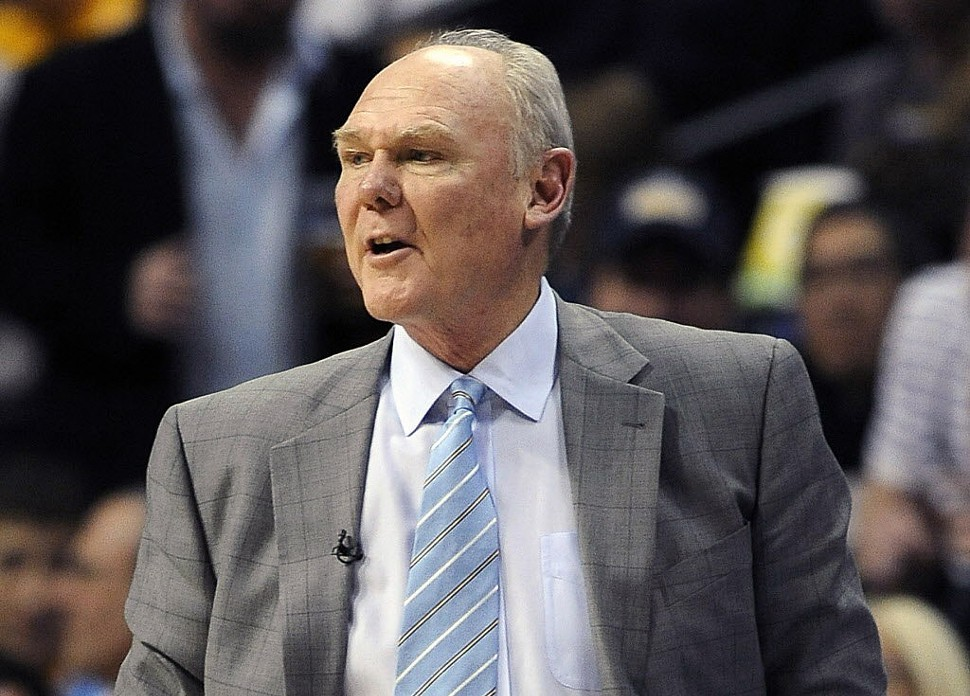 George Karl, a potential coaching candidate for the Griz now.