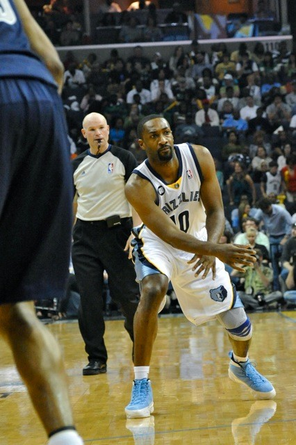 Gilbert Arenas: Checking a lot of boxes for the Grizzlies these days.