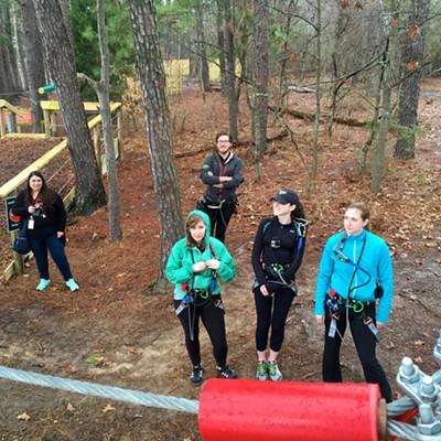 Go Ape Treetop Adventure Course