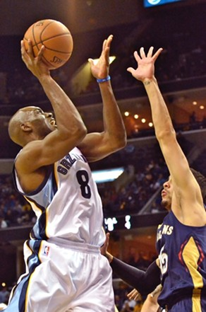 Quincy Pondexter has struggled to find his spot in the Grizzlies' rotation so far this season. - LARRY KUZNIEWSKI