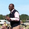 GOP Presidential Contender Herman Cain Launches Statewide Bus Tour from Bartlett