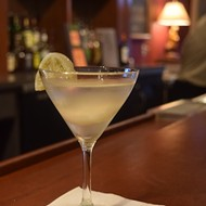 Gotta Try This: The Grove Grill's Pickled Green Tomato Martini