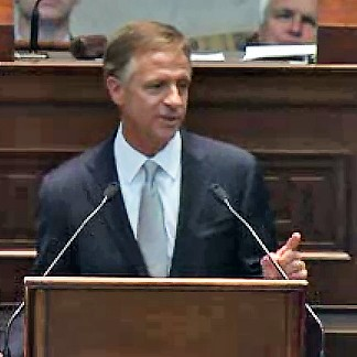 Governor Haslam giving State of the State address