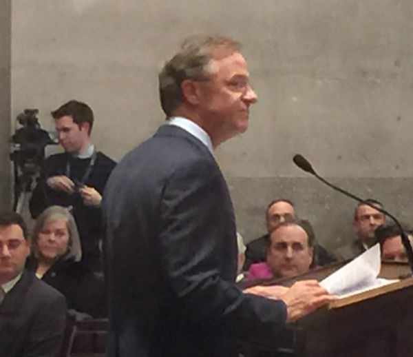 Governor Haslam opening the special session - JB