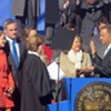 Haslam Takes Oath Again, Suggests a Firmer Resolve As He Heads Into Second Term