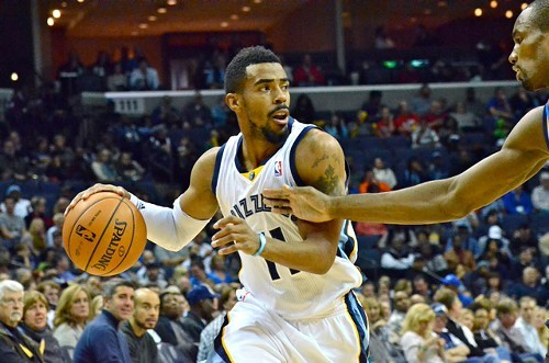 Griz fans panicked when Mike Conley left Sundays game with an injury, but it wasnt serious.