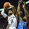 Grizzlies Lose to Thunder, 120-109