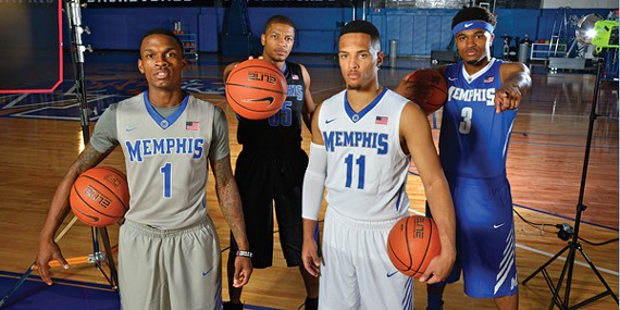 Guarded optimism: (L-R) Joe Jackson, Geron Johnson, Michael Dixon Jr., Chris Crawford