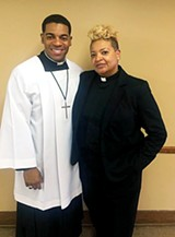 Gwendolyn Clemons and her son Davin