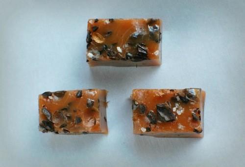Hand-Crushed Espresso Caramels