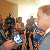 """Accused by Foe of """"Selling His Soul"""" on Permit Issue, Haslam Sticks to His Guns"""