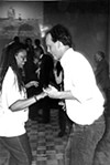 Henri Brooks and Tim Joyce in 1993