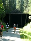 Hiawatha Trail tunnel