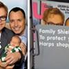 Hide the Kids! It's Elton John's Family!