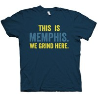 Hoop City Memphis not only creates cool things for Memphians to wear, we also create things that make people PROUD to be from Memphis. Shirts for $25!