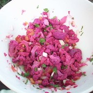 Hot Pink Cauliflower