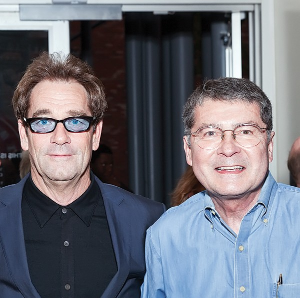 Huey Lewis with John Fry of Ardent Studios - COURTESY OF STAX MUSEUM