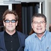 Huey Lewis with John Fry of Ardent Studios