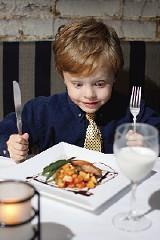 JUSTIN FOX BURKS - Ian Couch-Smith, age 5, at Tsunami