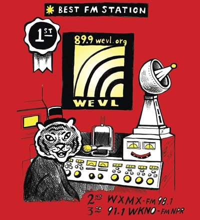If your best friend had an eclectic and kick-ass record collection and had a radio station, it'd be WEVL. Programmed by your neighbors and listener-supported, WEVL is one of the best things in Memphis. - ALEX HARRISON