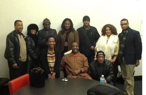 ...in a Brown campaign-group picture (4th from left, top row)...