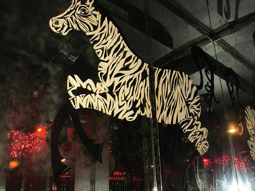 Inside the Zebra Lounges Chicago location.