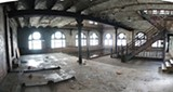 Interior of the Tennessee Brewery building