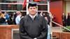 Iraq war veteran Charles Cooper graduates from the University of Memphis.
