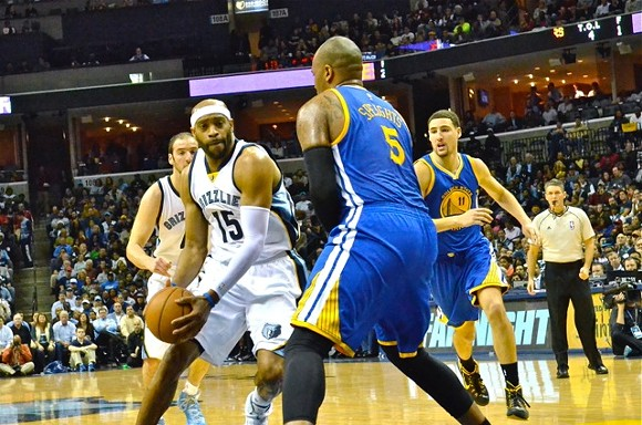 Vince Carter and Jeff Green have both struggled in the series so far. - LARRY KUZNIEWSKI