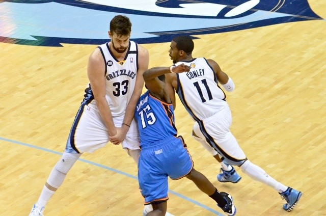 Its been a Mike Conley and Marc Gasol series so far.