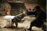 Jackie Chan and Jet Li in The Forbidden Kingdom
