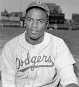 Jackie Robinson broke MLB's color barrier.