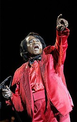 James Brown, dead at 73.