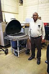 JOE BOONE - James Everette and Kingsbury's sink grill