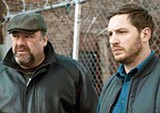 James Gandolfini and Tom Hardy