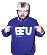 Jared Wallace of BeU Clothing