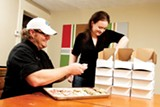 JUSTIN FOX BURKS - Jason Doty and Catherine Bauer of the Sweetlife Bakery