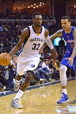 Jeff Green still helps, but he struggled last night against the Clippers. - LARRY KUZNIEWSKI