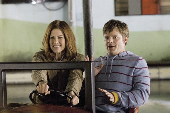 Jennifer Aniston and Steve Zahn
