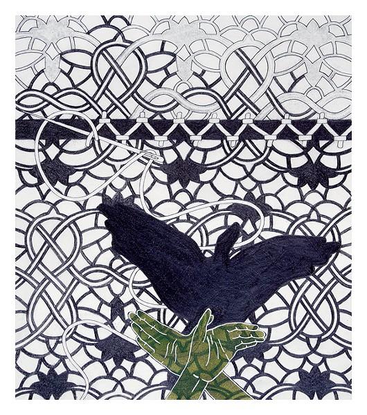 Jennifer Sargent's Shadow Warrior (Bird)