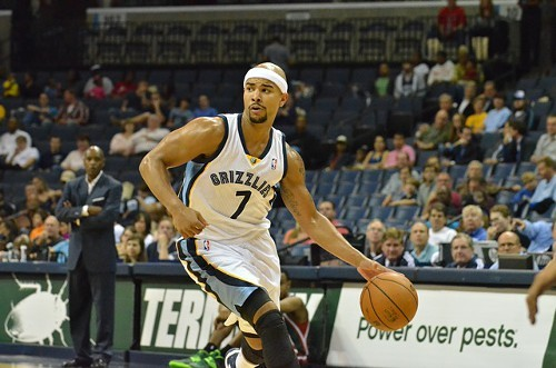 Jerryd Bayless could not miss in Sundays game at Atlanta. Except the one time he did.