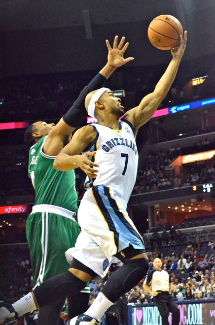 Jerryd Bayless probably saved the Grizzlies bacon against the Celtics Monday.