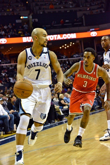 Jerryd Bayless was strong off the bench against the Bucks.