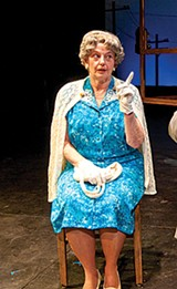 COURTESY OF THEATRE MEMPHIS - Jo Lynne Palmer in - Driving Miss Daisy.